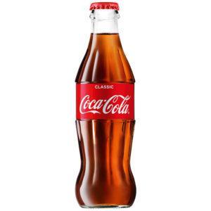 coca-cola 0,25 steklo